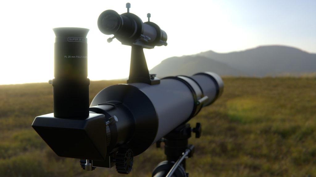 Teleskop-Refraktor